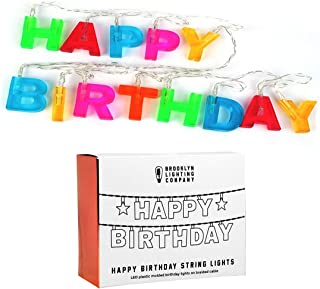 Best happy birthday led string lights Reviews
