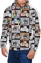 Athletic Pullover Plus Velvet Thick Sweatshirt Sportswear for Boys Mens