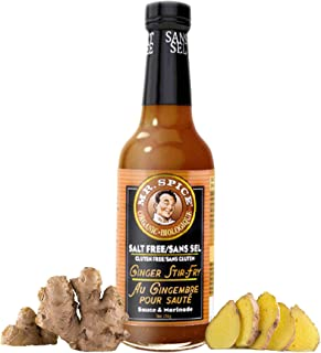 Best Mr. Spice - Organic Ginger Stir Fry Sauce -Healthy Salt Free Marinade - Fat Free - Gluten Free - Vegan - Low Calorie Review
