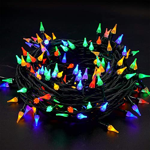 high quality Twinkle Star Outdoor String Lights Christmas Lights 200 LED 66ft Mini Green Wire Fairy Lights with 8 Lighting Modes, Christmas wholesale Tree Garden Wreath Party wholesale Wedding Indoor Decorations, Multicolor online sale