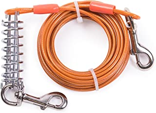 MFPS Favorite Tie Out Cable for Dogs, 30-feet, 6 Colors