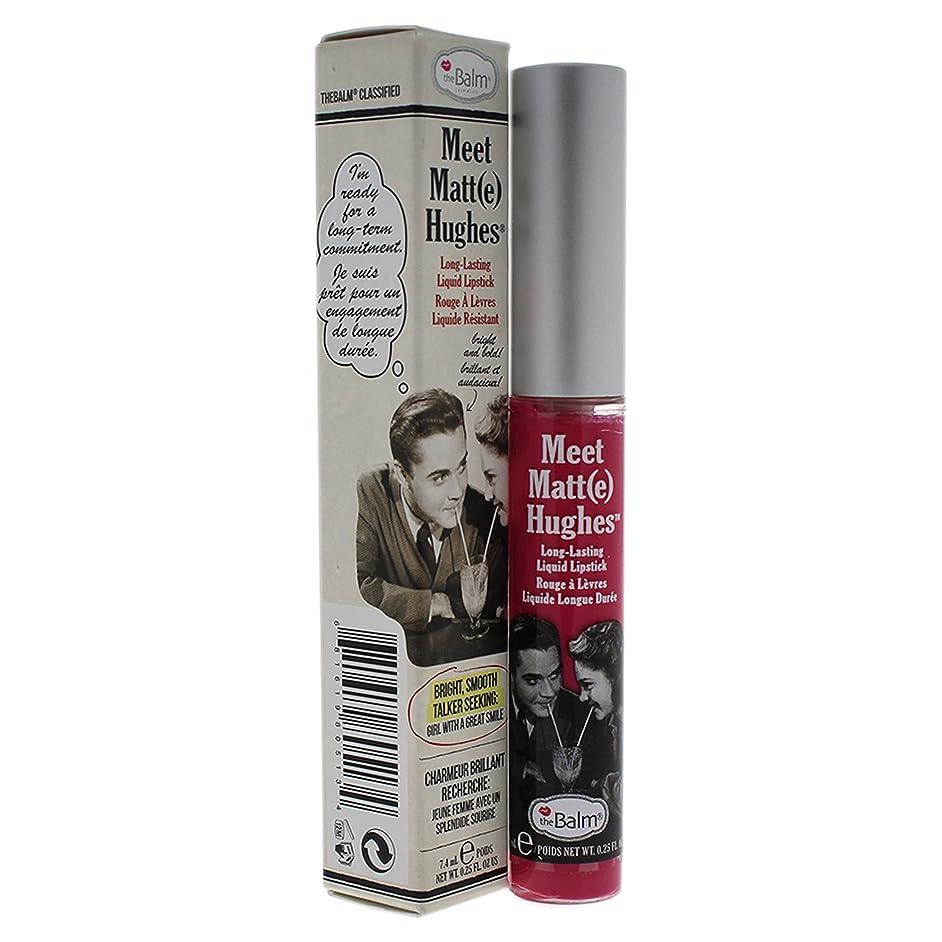 対抗先祖聖域ザバーム Meet Matte Hughes Long Lasting Liquid Lipstick - Chivalrous 7.4ml/0.25oz並行輸入品