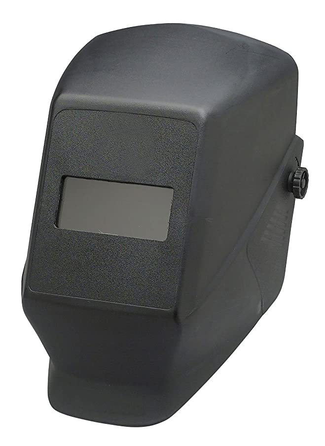 ぎこちない突っ込む抑制するJackson Safety 15121 W10 HSL 1 Passive Welding Helmet, 4-1/4 Length x 2 Width, Black (Case of 10) by Jackson Safety