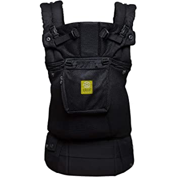 LÍLLÉbaby Complete Airflow Six-Position Baby Carrier, Black