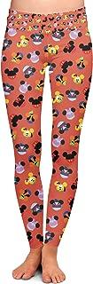 Rainbow Rules Mickey & Friends Mouse Ears Disney Inspired Yoga Leggings - Full Length, Low Waist