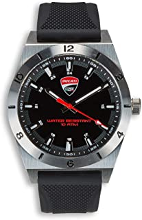 Ducati Corse Power Analog Quartz Watch Steel Case 987697336