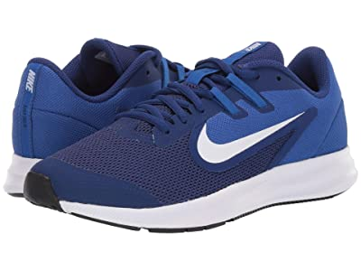 Nike Kids Downshifter 9 (Big Kid) (Deep Royal Blue/White/Gym Royal/Black) Boys Shoes