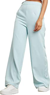 Wide Leg Tailored Trouser with Side Pocket 80391813 For Women Closet by Styli