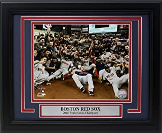 Boston Red Sox Framed 2018 World Series Champions Team Group 8x10 Photo