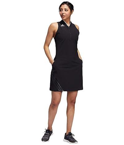 adidas Golf 3-Stripes Sport Dress (Black) Women