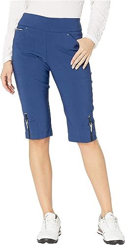 "24.5"" Skinnylicious Pull-On Knee Capris"