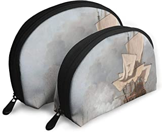 SUNGTER Sailing in The Naval Warfare Multifunctional Portable Cosmetic Bag Storage Bag