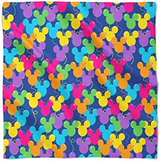 Mickey Ears Balloons Disney Inspired Satin Style Scarf