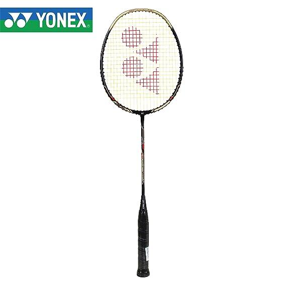 Yonex ARC 69 Light Graphite Shaft Badminton Racquet, G4 - Black/Gold