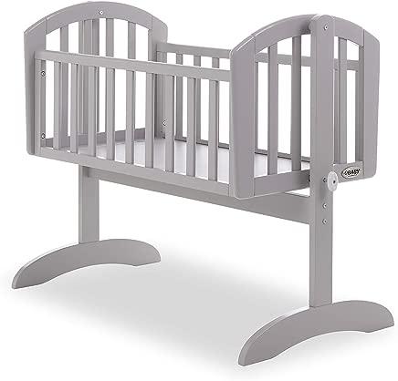 Obaby Sophie Swinging Crib  Warm Grey