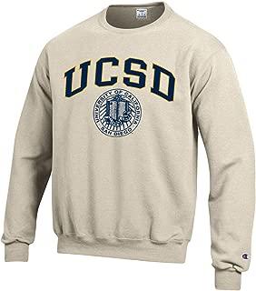 Champion UC San Diego Tritons Block & Seal Sweatshirt-Oatmeal