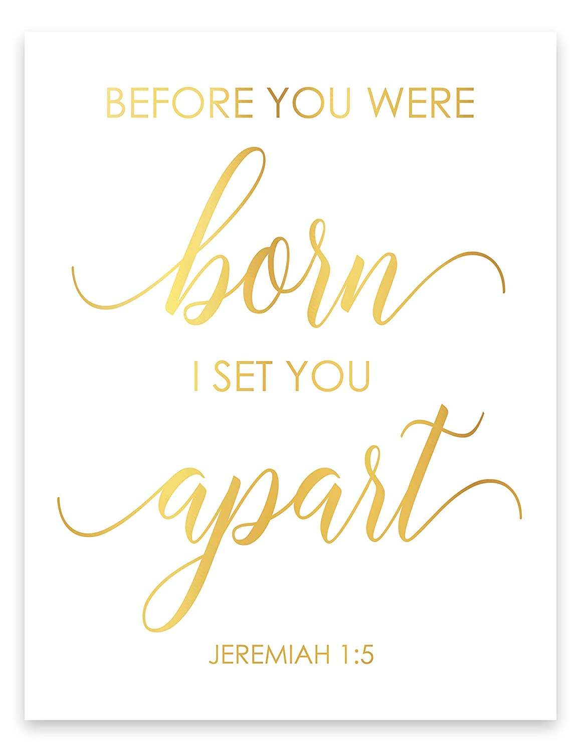Before You Were Born I Set Quotes Wall Max 48% OFF Bible Chr Apart Special Campaign Decor
