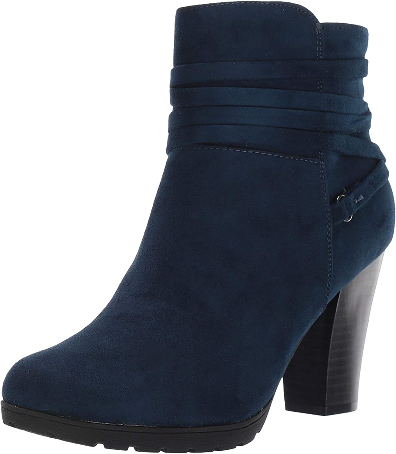 Rialto Women's Spade Popular overseas Midnight Suedette 9.5 Boot Be super welcome Size Ankle