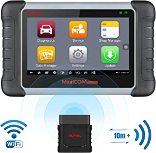Autel Scanner MaxiCOM MK808BT Diagnostic Tool, Upgraded Version of MK808, with MaxiVCI..