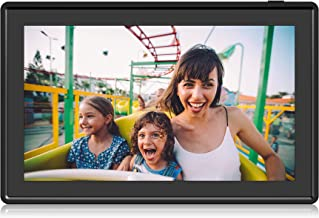 Feelcare 11.6 Inch 16GB WiFi Digital Picture Frame, 2.4GHz and 5GHz Dual Band WiFi, Touch Screen, 1920x1080 IPS LCD Panel, Wall-Mountable, Send Photos from Anywhere in The World(Black)