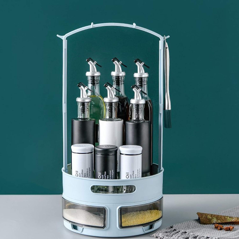 especias y suministros para hornear estante de especias giratorio multifuncional para almacenamiento de cocina Organizador giratorio Lazy Susan