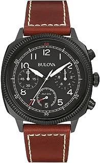 腕時計 ブローバ BULOVA MEN'S MILITARY UHF CHRONOGRAPH WATCH BL 98B245 [並行輸入品]
