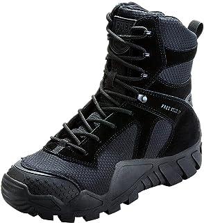 Botas de Caza para Hombres Botas Militares de Combate de Tiro Alto con Cordones Zapatos Ligeros para Todo Terreno para Senderismo, Trabajo