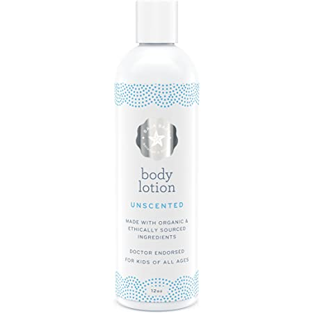 Baja Baby Unscented Lotion - Fragrance Free Body Lotion with No Sulfates, Parabens Or Phosphates - Gluten Free, Vegan Friendly & No Animal Testing – Gentle Lotion Safe for Sensitive Skins