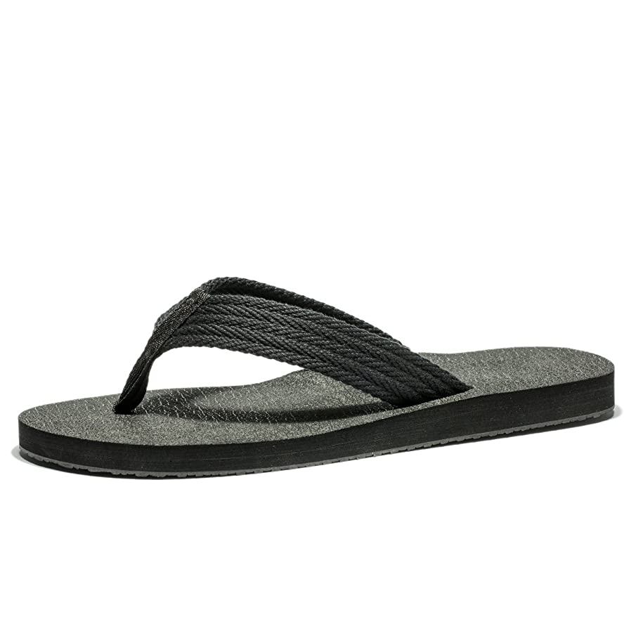 Cansherry Flip Flops for Adult Men with Extra Large Size,Non-Slip Wear Resistance Light Weight Sandals