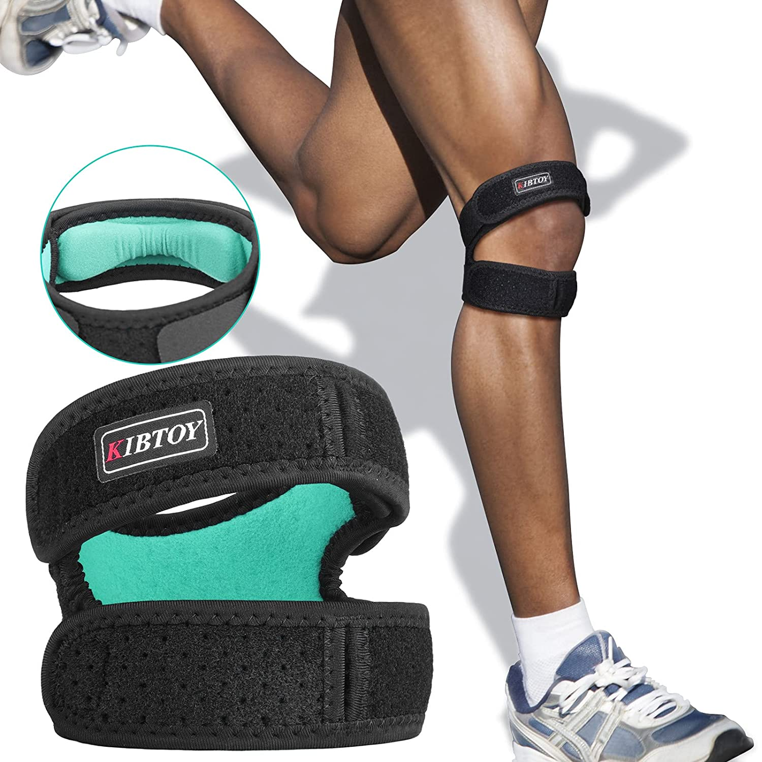 Boston Mall Professional Knee Brace KIBTOY Compress with Double Support NEW before selling ☆