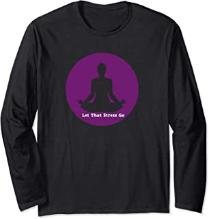 Let That Stress Go Yoga Sweatshirt