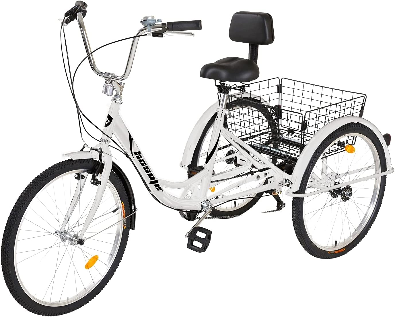 hosote Adult Tricycle 24 Large discharge sale inch Wheels Shiman Al sold out. Bike Three Cruiser