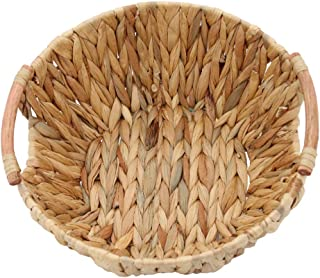 Round Tray Made of Natural Water Hyacinth, Arts and Crafts