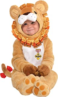 Suit Yourself Cowardly Lion Halloween Costume for Babies, The Wizard of Oz, Includes Jumpsuit and Booties