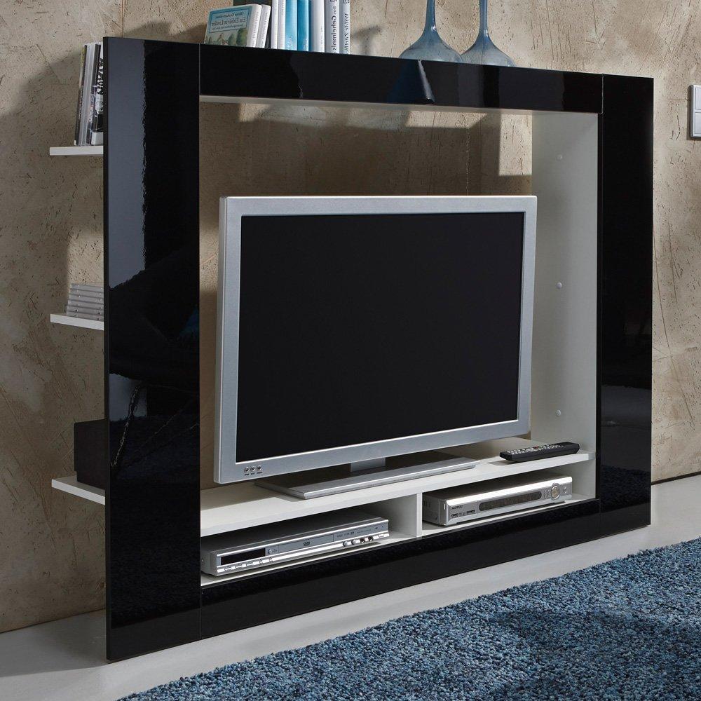TV con medios de pared negro: Amazon.es: Hogar