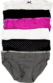 Lizwear Womens 6-Pack Cotton Bikini Panties