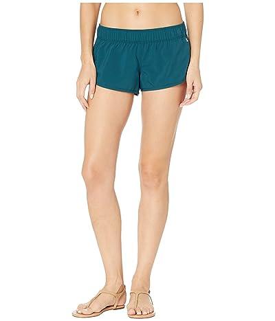 Hurley Supersuede Beachrider (Midnight Turquoise) Women