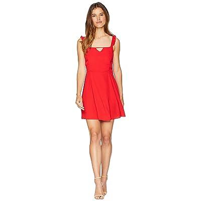 Lucy Love Falling For You Dress (Scarlet) Women