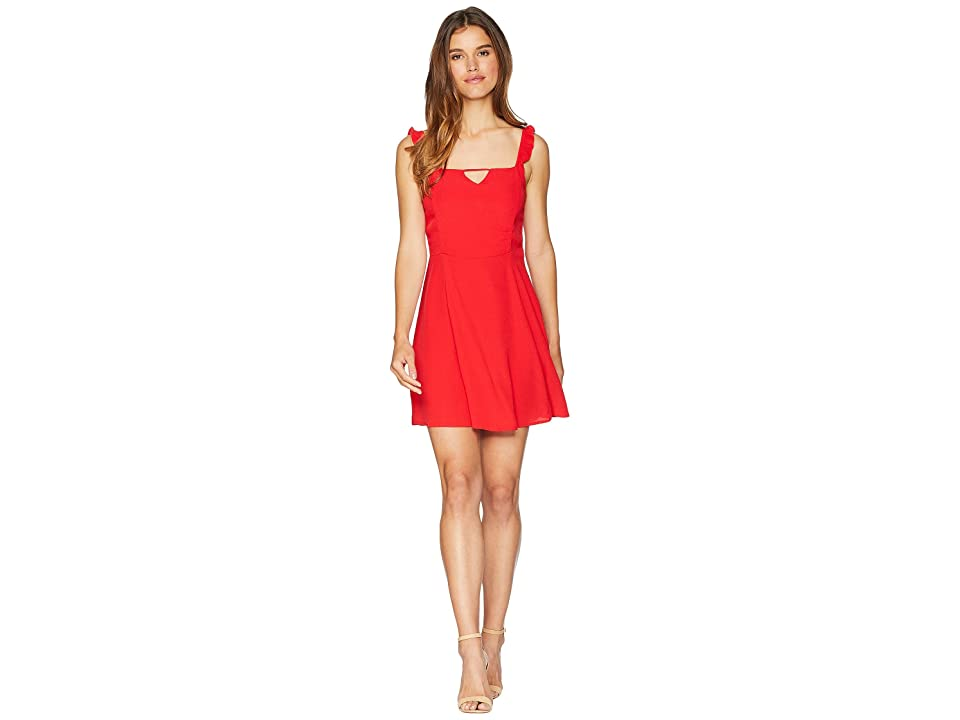 Lucy Love Falling For You Dress (Scarlet) Women