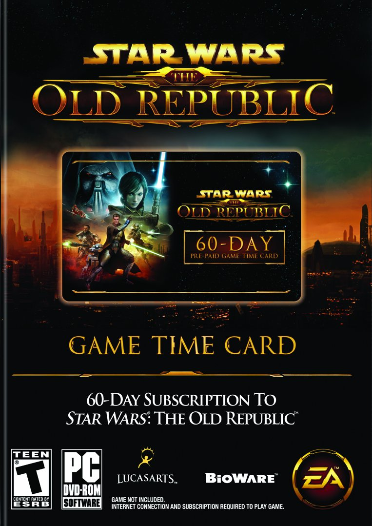 Star Wars: The Old Republic Our Latest item shop OFFers the best service 60-Day Time - Pre-paid PC Card