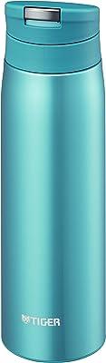 タイガー 水筒 500ml 直飲み ステンレス ミニ ボトル オートロック サハラ マグ 軽量 夢重力 ホリゾン ブルー MCX-A050-AH Tiger