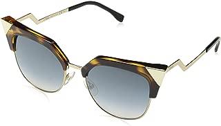 Fendi Women's Ff 0149/S G5 Sunglasses, Havana Gold, 54