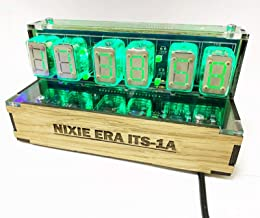 Vannamore Amazing Handmade ITS1A ITS-1A Rare Nixie Tubes Clock with lot of Functions