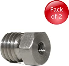 AdirPro 1/4-Inch to 5/8-Inch Threaded Female to Male Tripod Adapter - Pack of 2