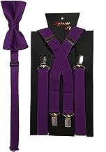 Best dark purple suspenders Reviews