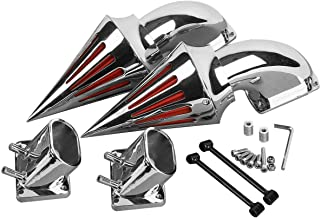 TCMT Chrome Spike twin Air Cleaner Intake Filter Kits Fits For Suzuki Boulevard M109 All Years