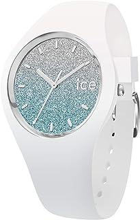 Ice-Watch - ICE lo White blue - Montre blanche pour femme avec bracelet en silicone