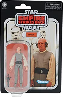 Star Wars The Vintage Collection Lobot Toy, 3.75-Inch-Scale The Empire Strikes Back Action Figure, Toys for Kids Ages 4 an...