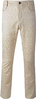 DarcChic Mens Trousers Pants Brocade VTG Gothic Aristocrat Steampunk