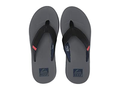 Reef Fanning Low (Grey/Black/Red) Men